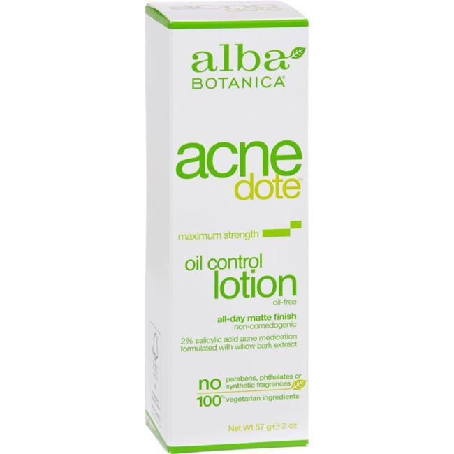 Alba Botanica HG0404913 2 fl oz Natural Acnedote Oil Control Lotion