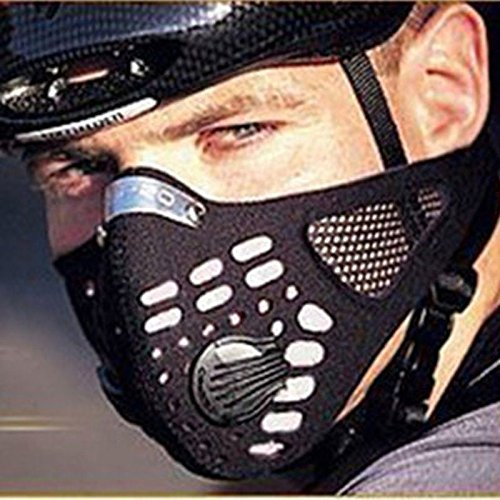 Anti Dust Cycling Bicycle Bike Motorcycle Racing Ski Half Face Mask Filter, Description: 100% brand New and high quality... by