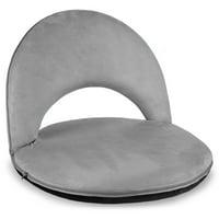 Deals on BCP Multipurpose Adjustable Floor Chair w/Microfiber Cover