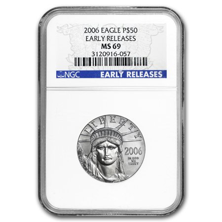 2006 1/2 oz Platinum American Eagle MS-69 NGC (Early (Ms69 Early Release)