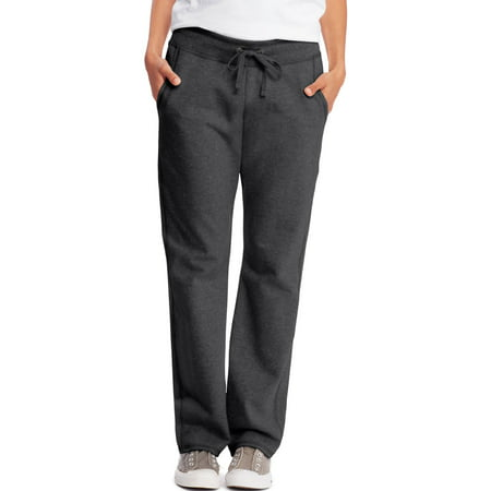Hanes Women's Athleisure French Terry Pant with Pockets Danskin Womens Yoga Pant