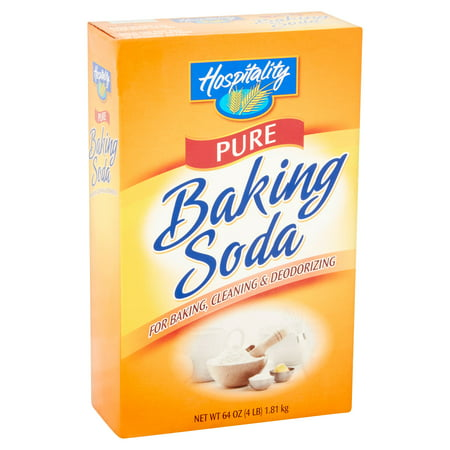 - (4 Pack) Hospitality Pure Baking Soda, 4 lb