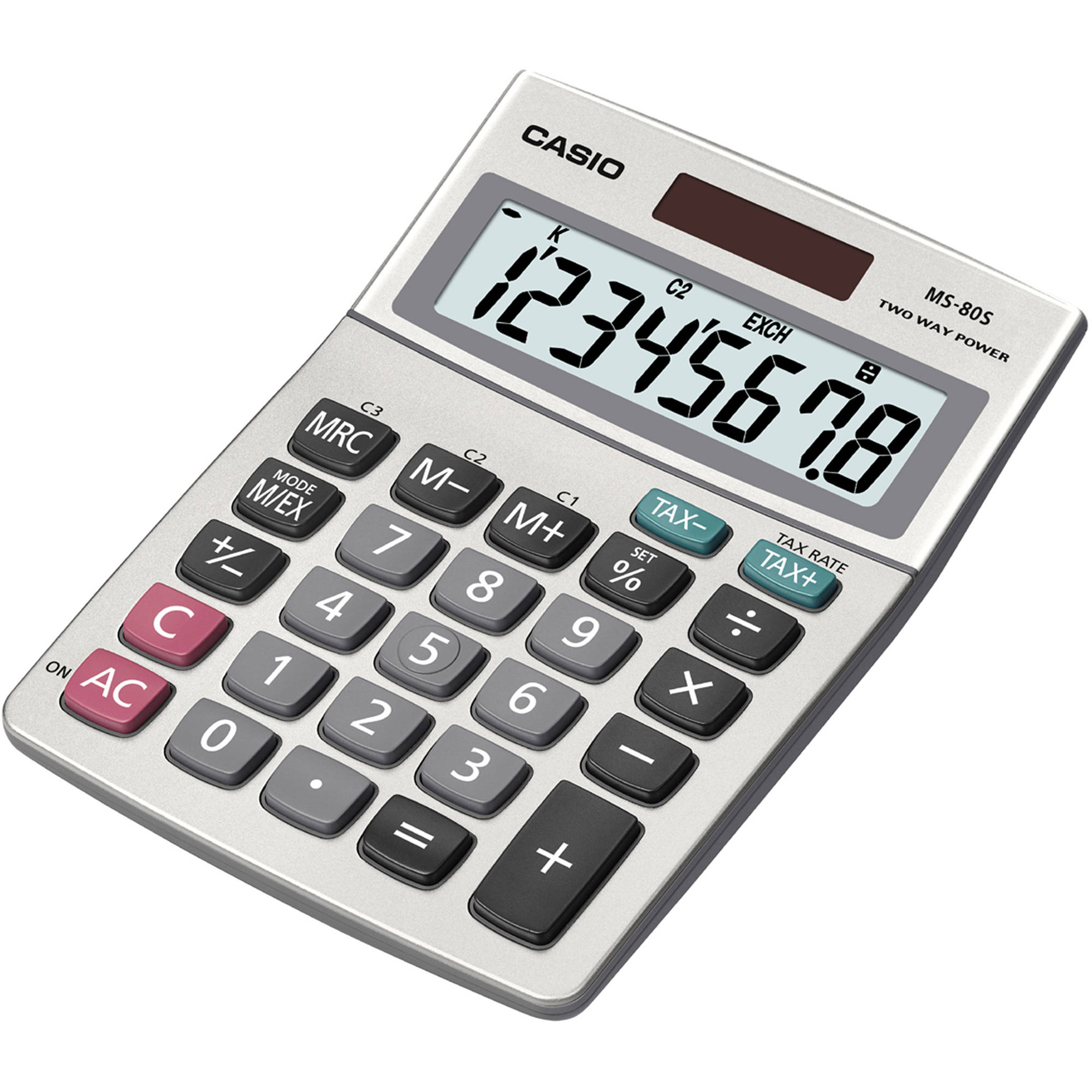 Casio MS-80S 8-Digit Desktop Calculator