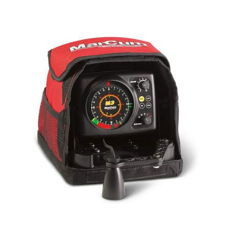 MarCum Ice Fishing Fish Finder Tool M3 Flasher Sonar Total System (Best Ice Fishing Sonar)