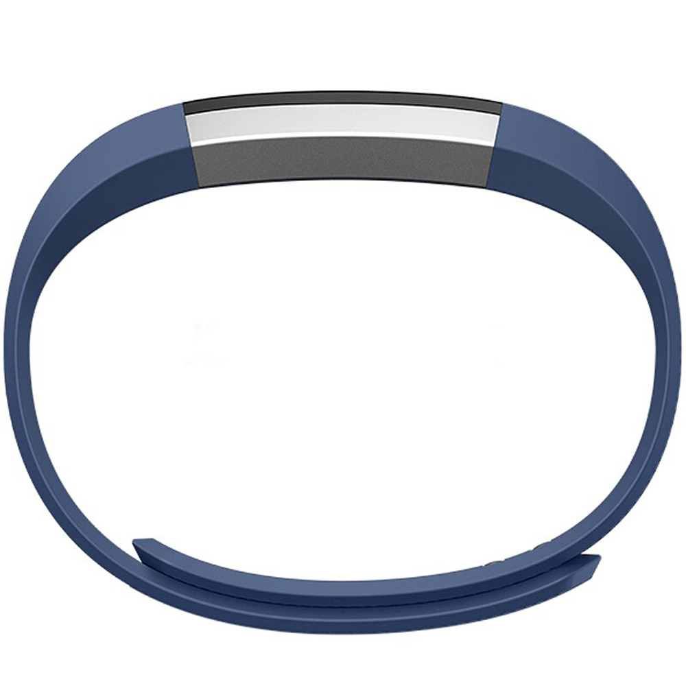 Mosunx Replacement Wrist Band Silicon Strap Clasp+Protector Film For Fitbit Alta HR