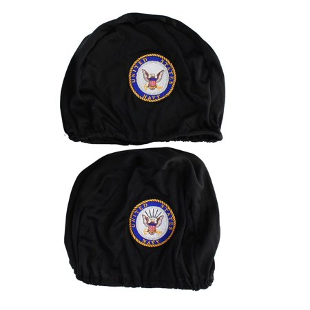 Embroidered Seat (U.S. Navy Embroidered Headrest Covers, Set of)
