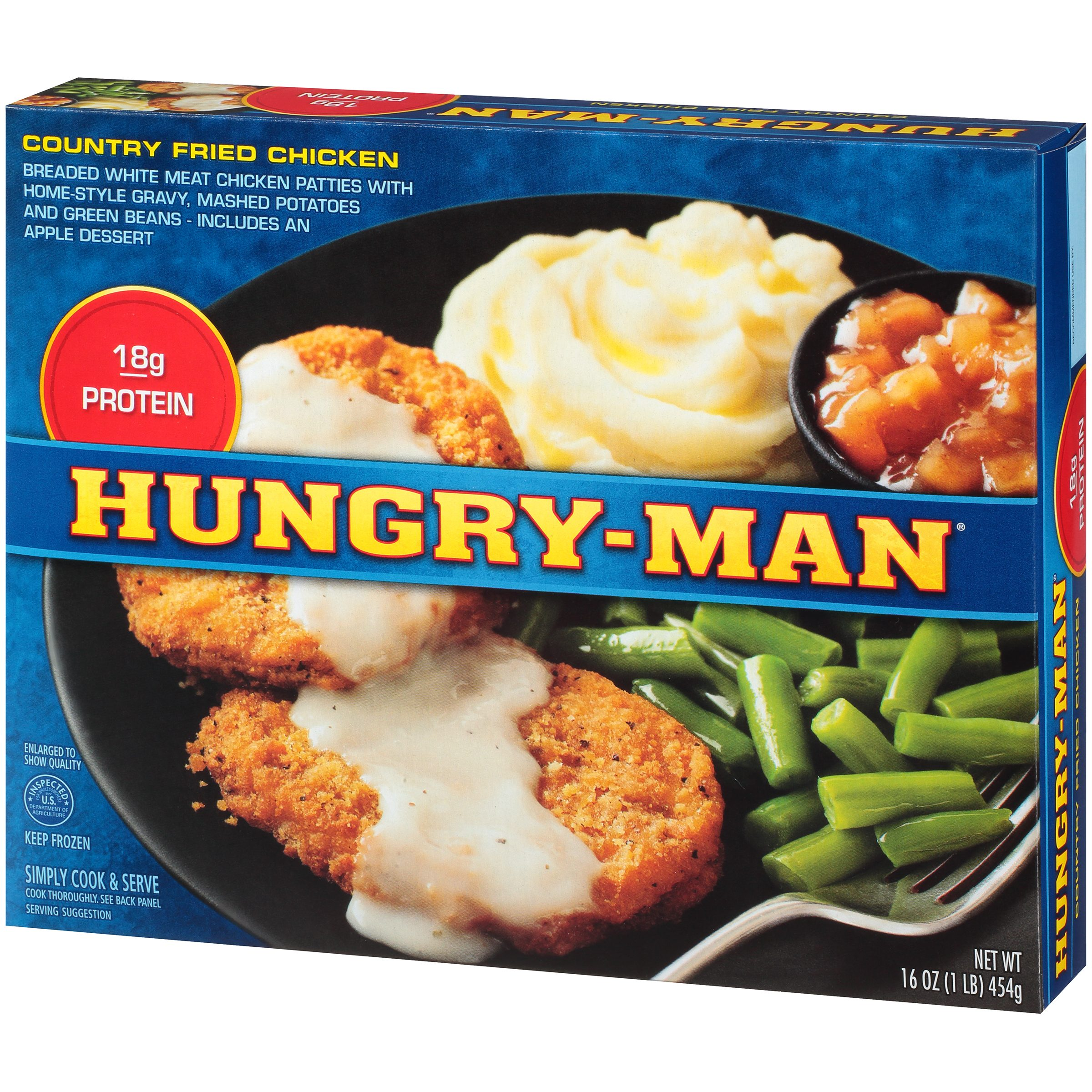 Trying Hungry Man Frozen Meals Cluber