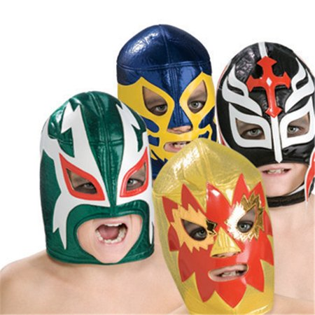 Luchadores Fabric Mask - Lucha Libre Halloween Costume