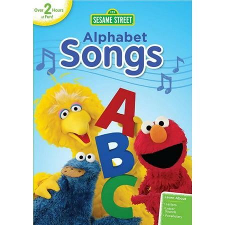 Sesame Street: Alphabet Songs (DVD) (Sesame Street Halloween Song)