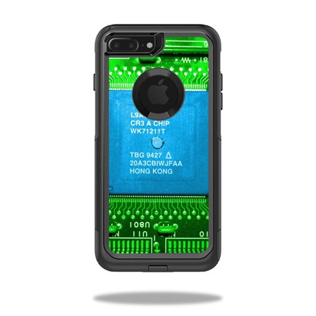 MightySkins Protective Vinyl Skin Decal for OtterBox Commuter iPhone 7 Plus Case wrap cover sticker skins Circuit Board ()