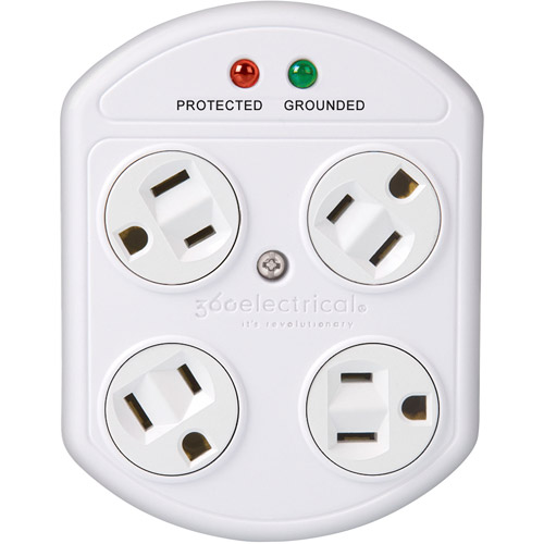 360 Elec 36036 4-Outlet Surge Protector