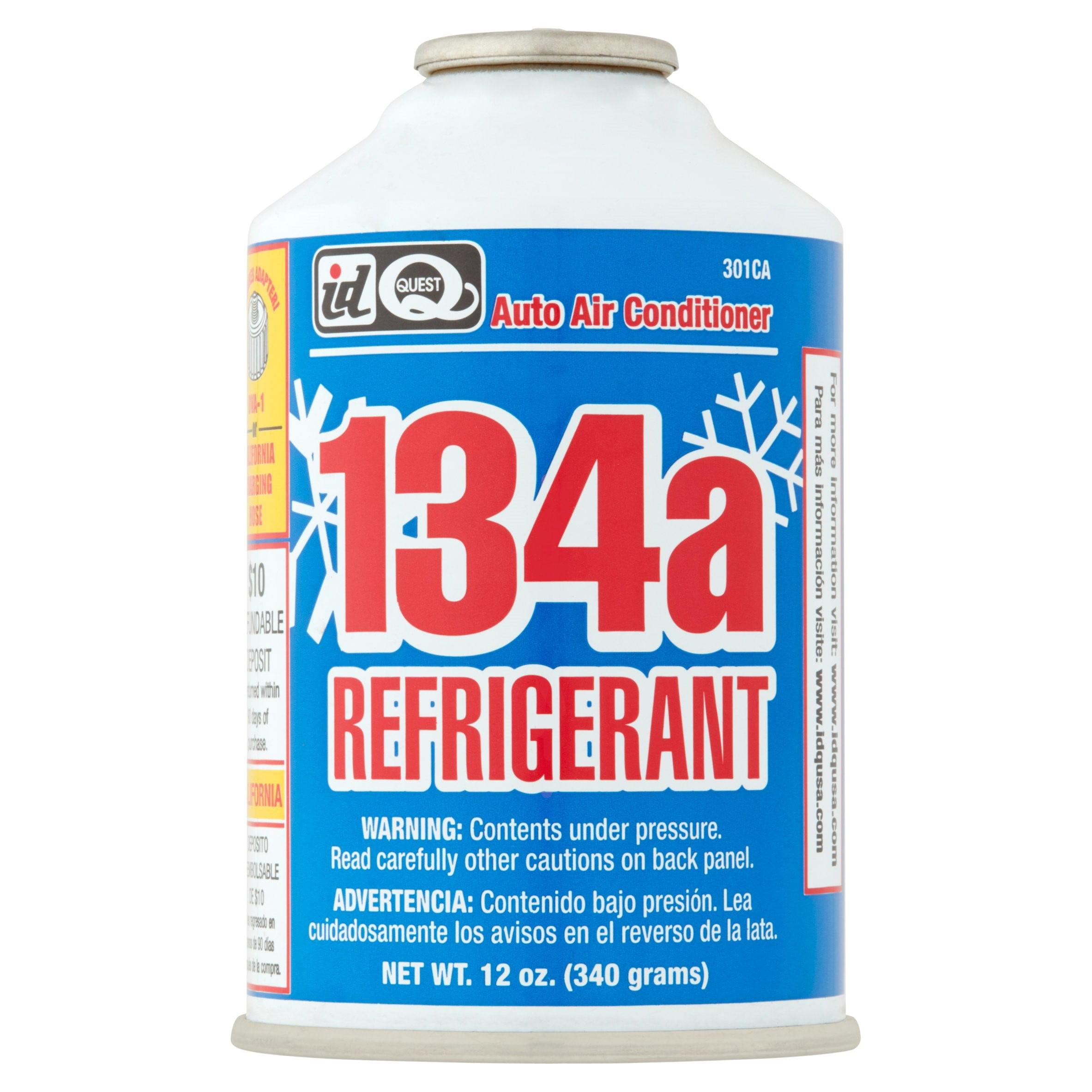 Interdynamics Auto Air Conditioner R-134a Refrigerant, 12 oz, 301CA