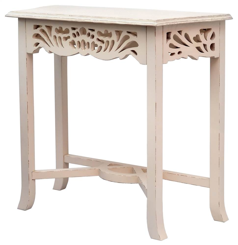 Side Table in Linen Finish