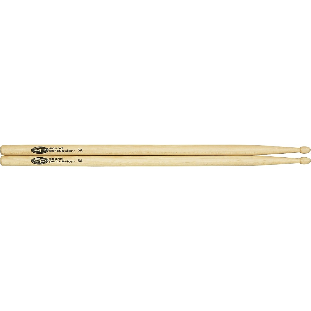 Sound Percussion Labs Hickory Drumsticks Pair Wood 5A by Sound Percussion Labs