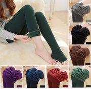 Fashion Women Winter Thick Warm Fleece Lined Thermal Stretchy Slim Skinny Leggings Pants