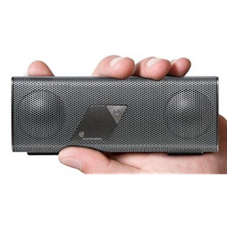 Soundmatters foxLV2 Platiunum Portable Pocket-Sized Bluetooth Speaker (Silver)