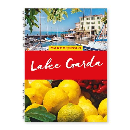 Marco Polo Spiral Guides: Lake Garda Marco Polo Travel Guide - With Pull Out Map (Other) (3 Spiral Pull)