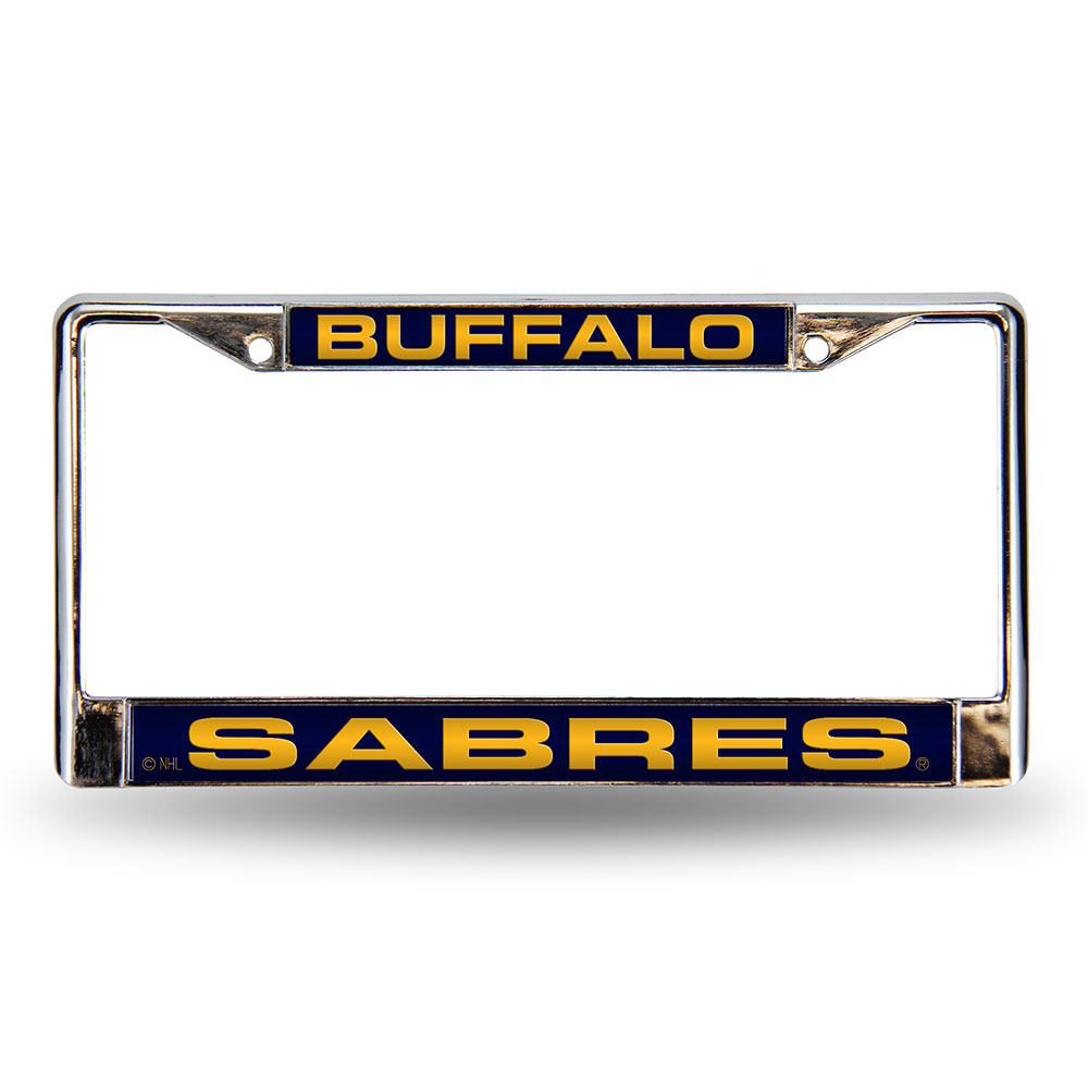 Buffalo Sabres NHL Laser Chrome License Plate Frame