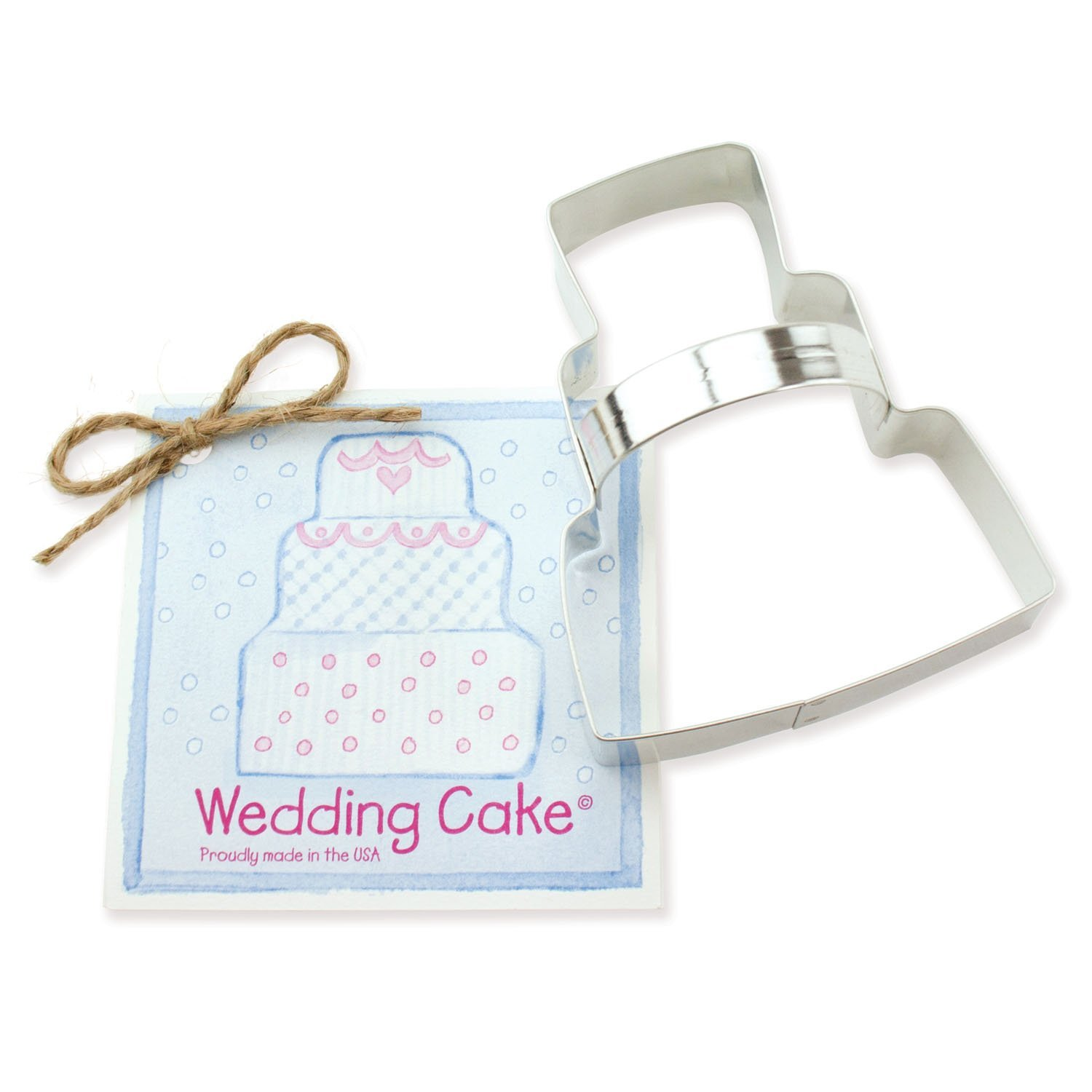 Wedding Cake Cookie and Fondant Cutter Ann Clark 41 Inches US