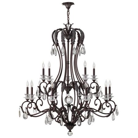Click here for Hinkley Lighting 4408 Marcellina 15 Light 2 Tier C... prices
