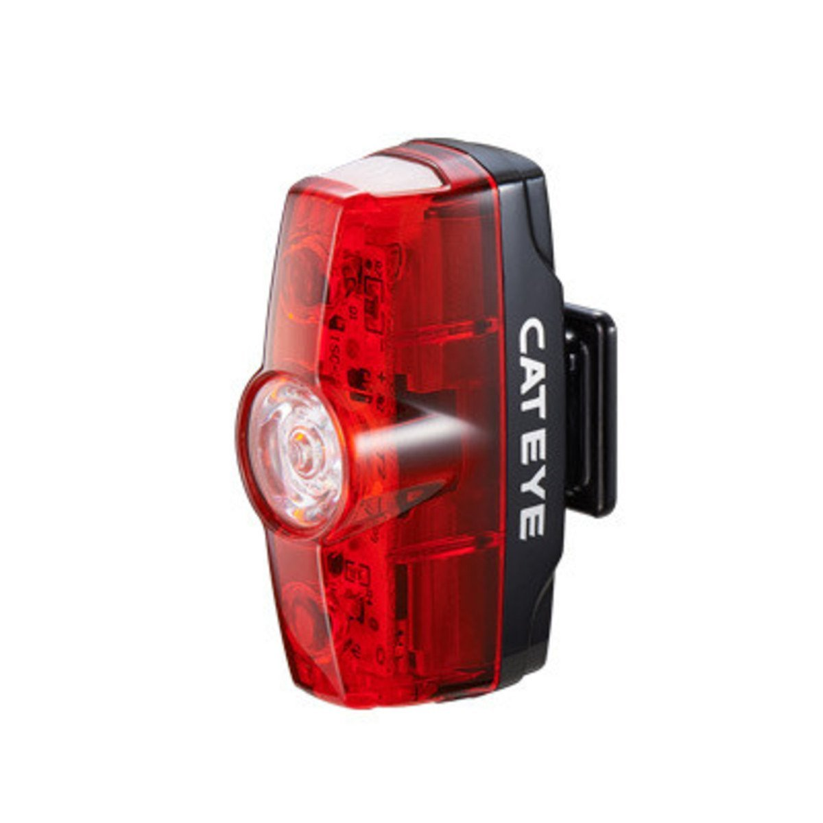 - Rapid Mini Rear Rechargeable Bike Light, 25 Lumens, BE SEEN: The Rapid Mini's LEDs give off 25 lumens for excellent visibility. By CatEye