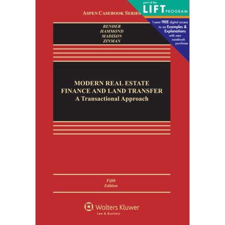 Modern Real Estate Finance And Land Transfer