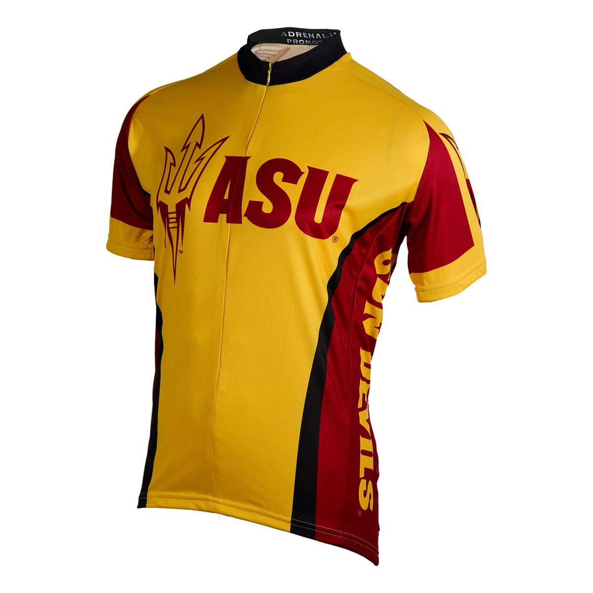 Image of Adrenaline Promotions Arizona State University Sun Devils Cycling Jersey