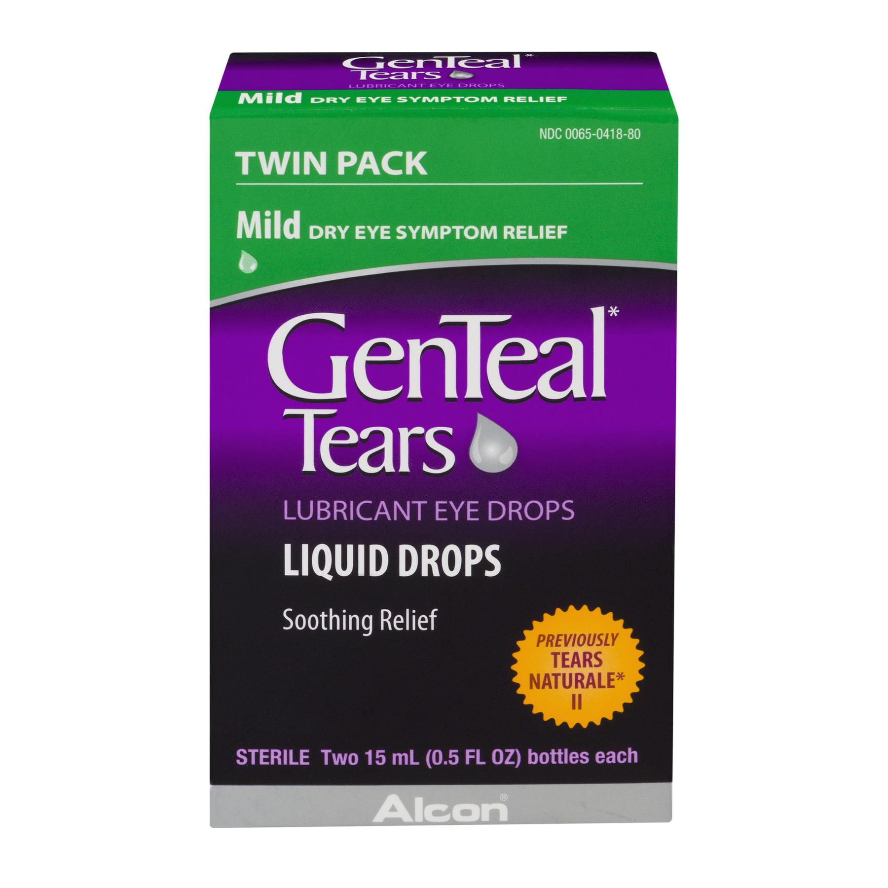 Alcon GenTeal Tears Eye Drops, 2 ea