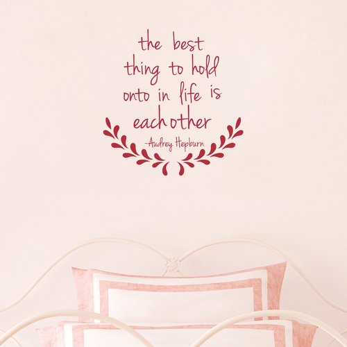Wallums Wall Decor The Best Thing - Audrey Hepburn Wall Decal