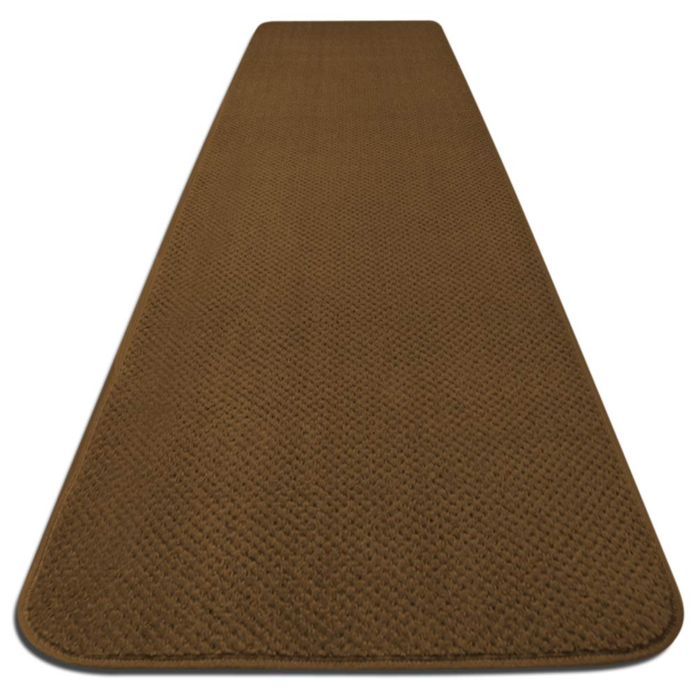 Skid-resistant Carpet Runner - Bronze Gold - 6 Ft. X 27 In. - Many Other Sizes to Choose From