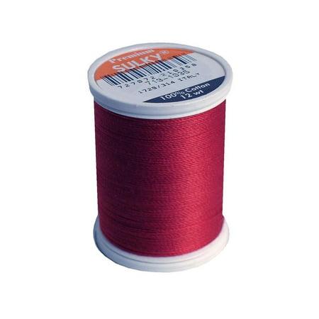 Sulky Cotton Thread 12wt 330yd Dk -