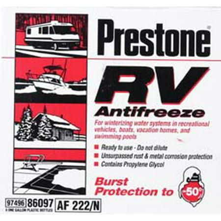 Prestone Rv Marine Antifreeze 1 Gallon Best Antifreeze
