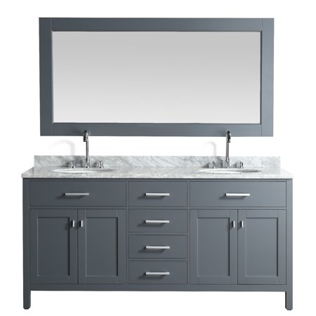 Bathroom Vanity Cream Marble (Design Element London 72