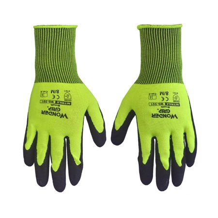 FeelGlad 1 Pair Garden Glove for Women and Men, Multipurpose Working Gloves for Gardener, Fishing, Construction Site,