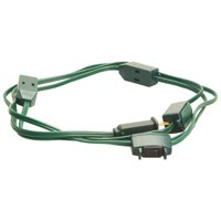 9-Outlet Christmas Tree Cube Tap Extension Cord, 18/2, Green, 9-Ft.