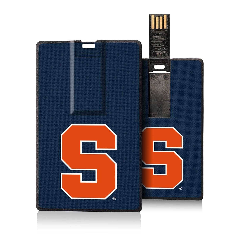Syracuse Orange Solid Credit Card USB Drive 16GB
