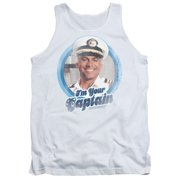 The Love Boat I'M Your Captain Mens Tank Top Shirt