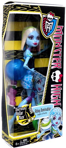 Monster High Skultimate Roller Maze Abbey Bominable Doll by Mattel