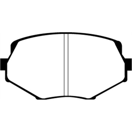 - EBC 94-01 Mazda Miata MX5 1.8 Greenstuff Front Brake Pads