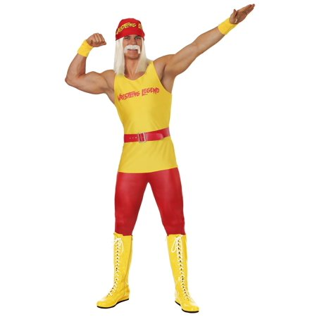 Men's Wrestling Legend Costume](Wrestling Halloween)