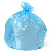 Plasticplace 12-16 Gallon Recycling Bags - Blue, case of 250 bags