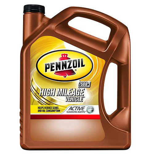 Pennzoil 10W-40 High-Mileage Vehicle  Motor Oil, 5 qt.