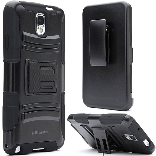 i-Blason GalaxyNoteIII-Prime Prime Series Holster and Belt Clip for Samsung Galaxy Note III, Assorted Colors