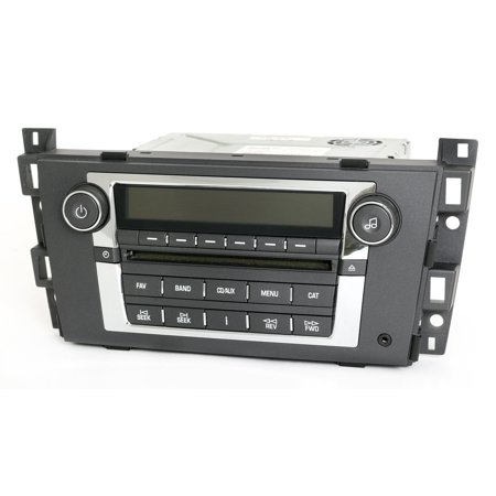 Cadillac DTS 2006 Radio AM FM mp3 CD Player with Aux Input Part Number 15809941 - Refurbished