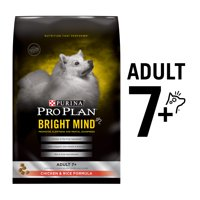 Purina Pro Plan BRIGHT MIND Chicken & Rice Formula Adult 7+ Dry Dog Food (Various Sizes)