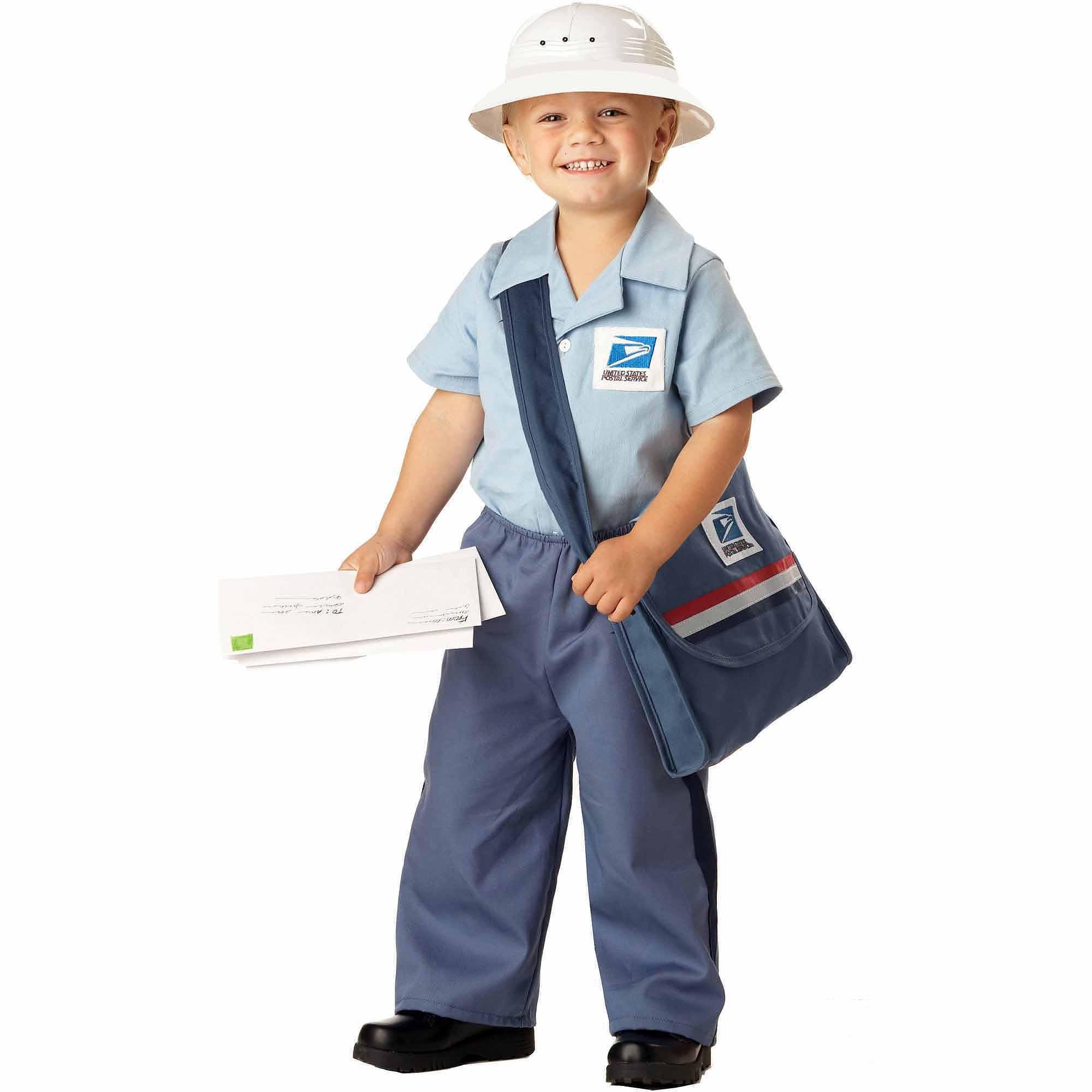 Mr. Postman Toddler Halloween Costume, Size 3T-4T - Walmart.com
