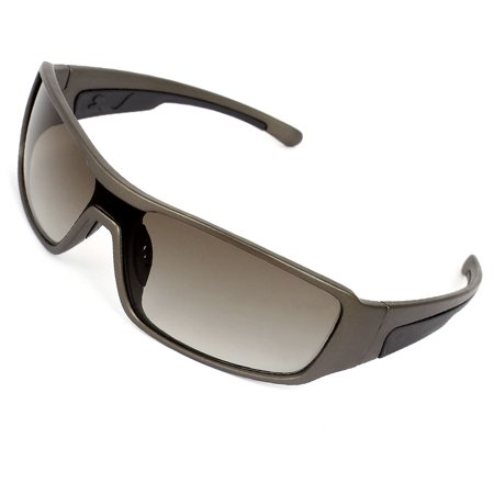 Travelling Beach Steel Gray Double Bridge Sunglasses Eyewear for Women Men