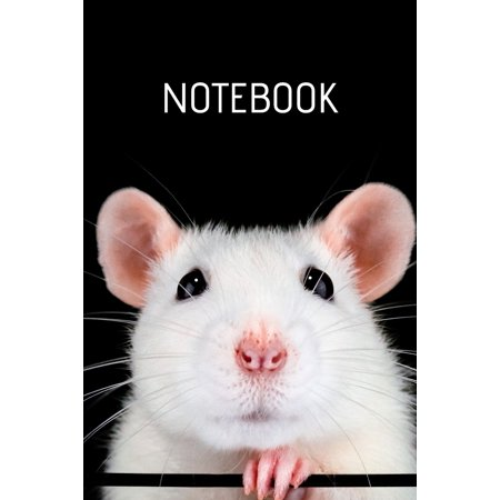 Notebook: Rat Notebook; Rat Care Notebook; Pet Rat Lover; Cute Rat Notebook; 6x9inch Notebook with 108-wide lined pages (Paperback) ()
