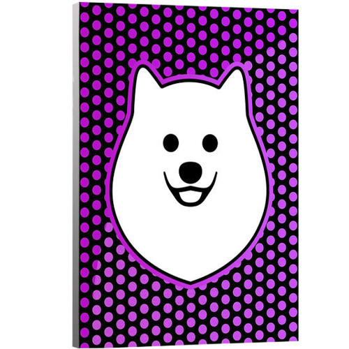 Artzee Designs 'Modern Pomeranian' Graphic Art on Wrapped Canavs