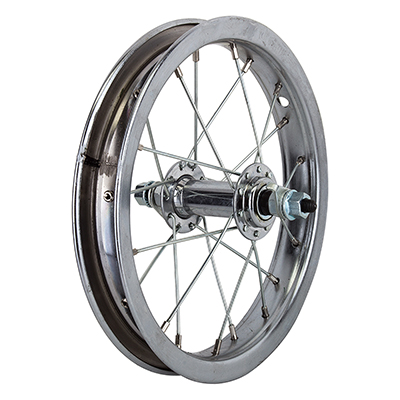 Wheel Front 12-1/2x2-1/4 SF 5/16 AXLE